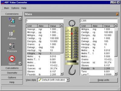 ABF Value Converter 2.3 screenshot