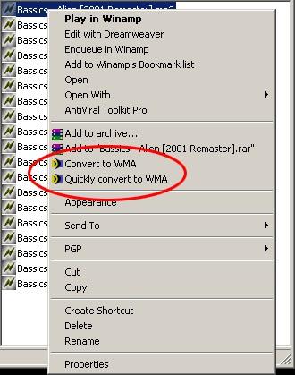 All To WMA Converter 1.77 screenshot