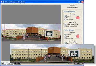 Altostorm Rectilinear Panorama Pro 1.3 screenshot