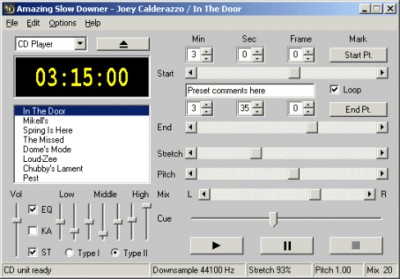 Amazing Slow Downer for Windows 3.2.3 screenshot