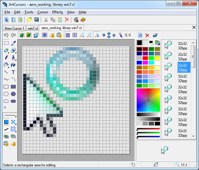 ArtCursors 5.22 screenshot