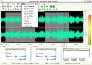 Audio Mp3 Editor 6.00 screenshot