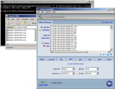 AudioCommander 4.0 screenshot