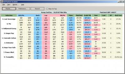 BetMarket Scanner 1.1 screenshot