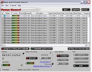 Blaze Audio Power Record 2.0 screenshot