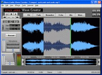 Blaze Audio Wave Creator 3.2 screenshot