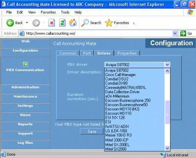 Call Accounting Mate 2.6.1.99 screenshot