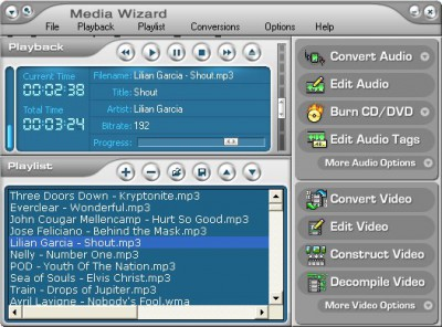 CDH Media Wizard 11.0 screenshot