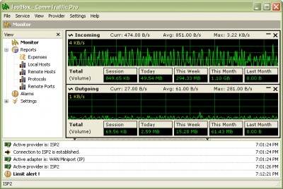 CommTraffic 3.1 screenshot