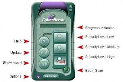 CyberScrub AntiVirus Lifetime Edition 1.0 screenshot