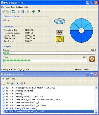 DVD Demuxer 3.0 screenshot
