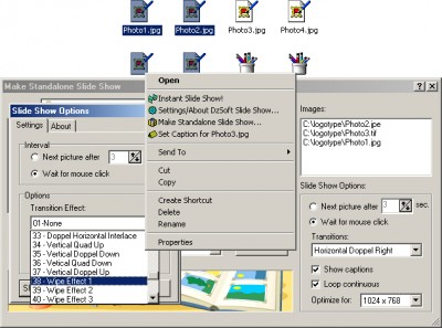 DzSoft Slide Show 2.0.0.2 screenshot