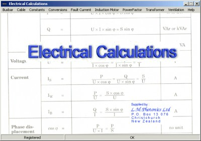 Electrical Calculations 2.70.0.4 screenshot