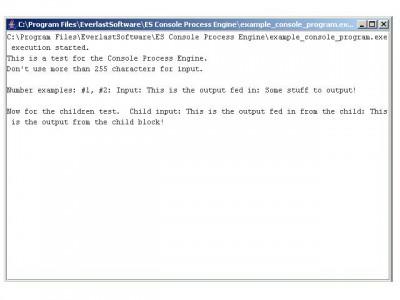 ES Console Process Engine 1.2.3 screenshot