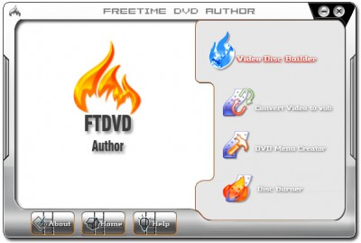 FTDVD Author 4.0 screenshot
