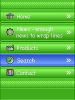Happy Pop-out Menus 1.11 screenshot