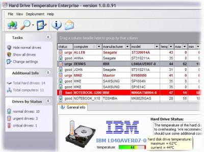 HDD Temperature Enterprise 1.0.90 screenshot