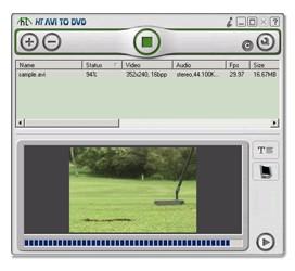 HT AVI to DVD 1.0 screenshot