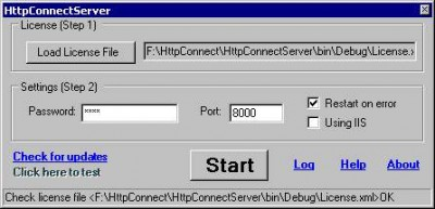 HttpConnect 1.1 screenshot
