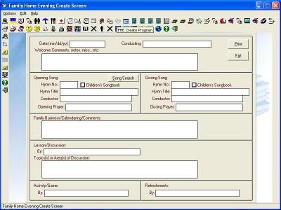 LDS Home Information 11.2 screenshot