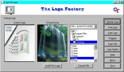 Logo Factory 2.0 screenshot