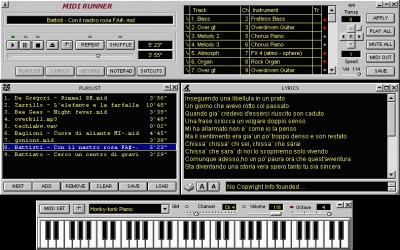 MidiRunner 1.39.0.3 screenshot