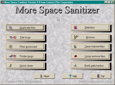 More Space Sanitizer 5.0 screenshot