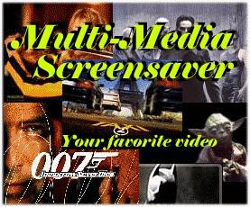 Multi-Media Screensaver 1.1.1128 screenshot