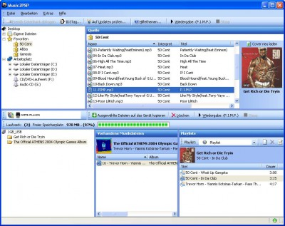 Music2PSP 1.00.102 screenshot