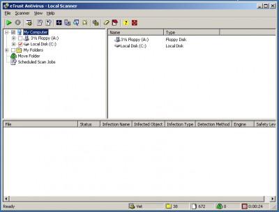 MySecurityCenter Antivirus 2006 7.1.501 screenshot