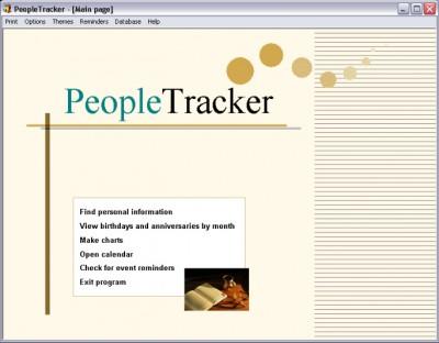PeopleTracker 2.0 screenshot