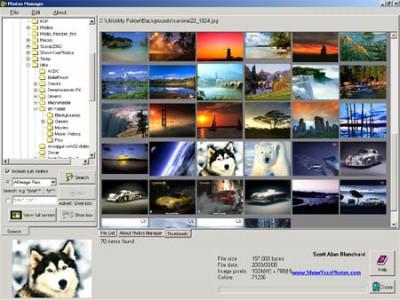 Photos Manager 1.0 screenshot
