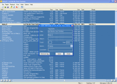 Player 1.7.5 screenshot