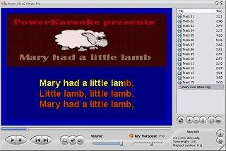 Power CD+G Player Pro 1.0.20 screenshot