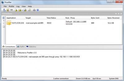 Proxifier 3.15 screenshot
