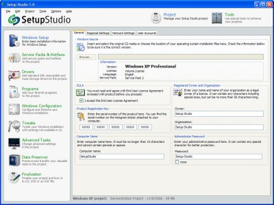 Setup Studio 1.0.2 screenshot
