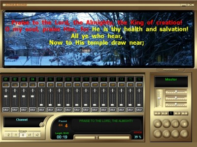 SingAlong Player 1 screenshot