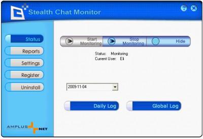 Stealth Chat Monitor 1.8 screenshot