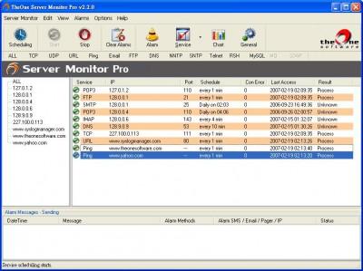 Theone Server Monitor PRO 3.7.0 screenshot