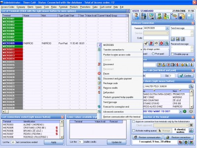 Timer Cafe Lan House Manager 4.2.1 screenshot