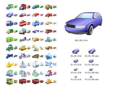 Transport Icon Set 2008.2 screenshot
