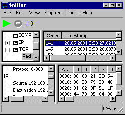 Wireless Snif 4.174 screenshot