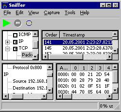 Wireless Snif 4.152 screenshot